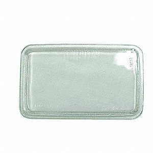 LENS GLASS, CLEAR