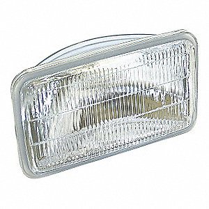 SEALED BEAM LOUVERED, HALOGEN