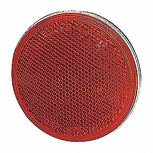 REFLECTOR STICK ON 3IN SEALED RED