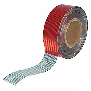 TAPE CONSPICUITY 2INX150FT RD/WH