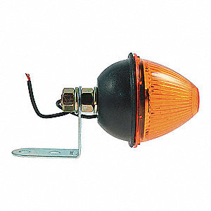 BEEHIVE MRK/CLR LAMP, AMBER
