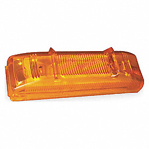 LED CLEARANCE MARKER PC 19 AMBER