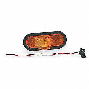 Economy Oval Side Turn Marker Light Kit