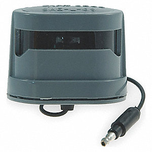 DRMLD LICENSE LAMP W/MOLDED PLUG