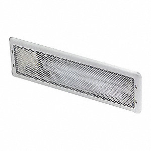 RECESSED REEFER FLUORESCENT CLEAR