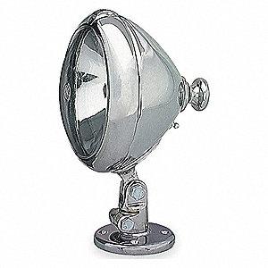 6IN CHROME SPOT LAMP/SWITCH
