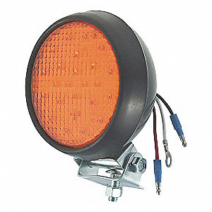LED STROBE RUBBER HOUSING MOUNTED A