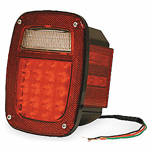 LAMP S/T/T HIGHCOUNT LED RED