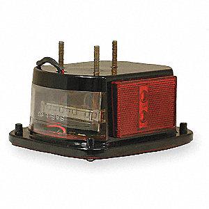 LAMP S/T/T HICNT LED RD W/SIDE MRKR