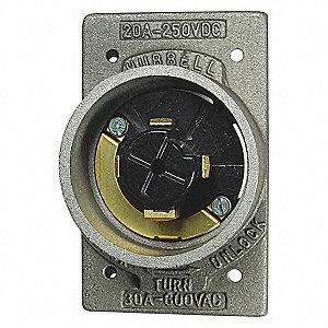 FLIN HUBLOCK 30A600VAC ETAL