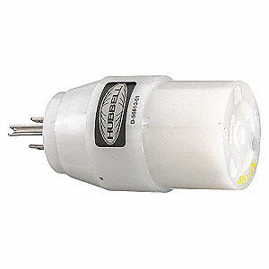 ADAPTER 20A 125V TWLK BY 15A 125V S