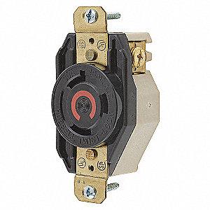 LOCKING SGL RCPT NEMA L8-30R