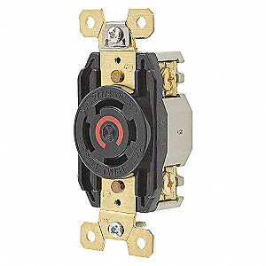 RECEPTACLE TWISTLOCK 30A 3-277 480V