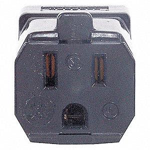 VALISE CONN 15A 125V 5-15R BK