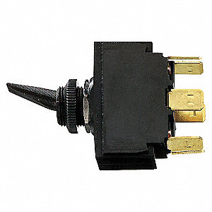 SW MAR DPDT 12V ACCESSORY