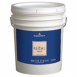 Interior Paint,Matte,5 gal,Northampton P