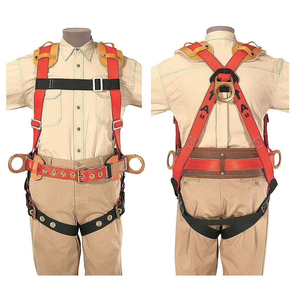 KLEIN TOOLS HARNESS FULL-BODY IRONWORKER W/NCP - Harnesses