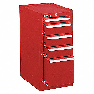 18 5DR CABINET RED