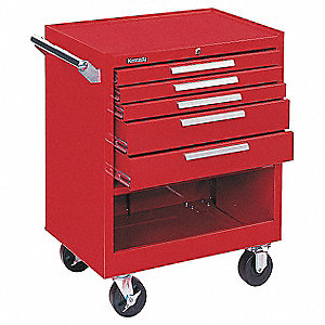27 5DR CABINET RED