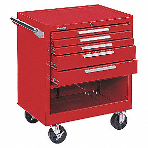 29 5DR CABINET RED