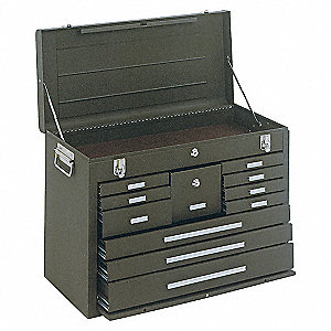 CHEST 26IN 11 DRAWER BROWN