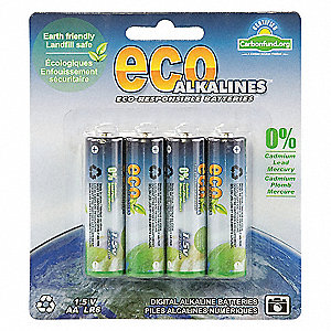 BATTERY DISPOSABLE ALKALINE AA 4/PK