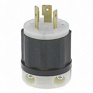 PLUG LOCKING 3W 2P 20A 480V