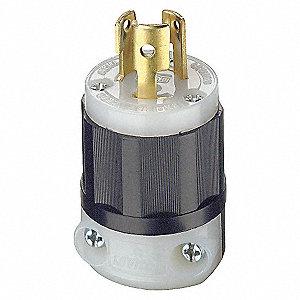 PLUG LOCKING 3W 2P 15A 125V