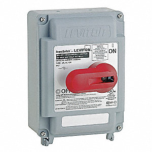 SWITCH SAFETY DISCONNECT 30A 600V