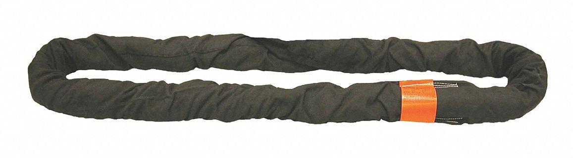13 ft Color Code: Black Endless 3-5//8 Diameter Nylon//Polyester Type 5 Round Sling