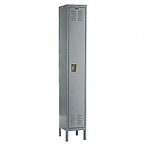 LOCKER PREM 1-TIER 1-WIDE ASSY 1/PK