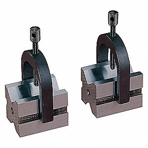 BLOCK-V + CLAMP SET