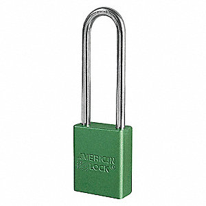 LOCKOUT LOCK KEYED ALIKE GRN