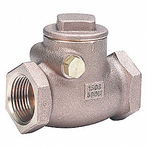 BRONZE CHECK VALVE 150 SWP