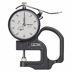 GAUGE THICKNESS DIAL
