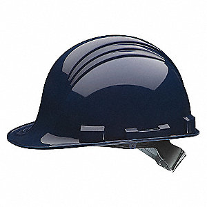 HARD HAT 6PT PINLOCK NAVY BLUE