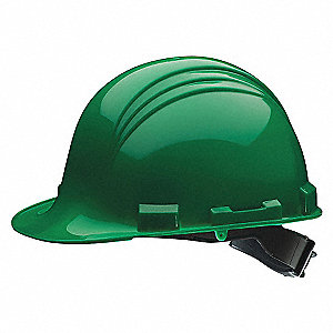 HAT HARD 6PT RATCHET DARK GREEN