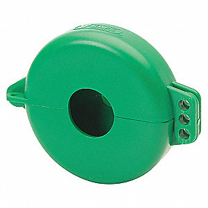 VALVE LOCK 2.5-5IN GREEN