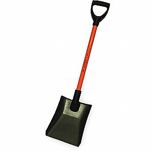 SHOVEL D GRIP NON-CNDCTV SQRE POINT