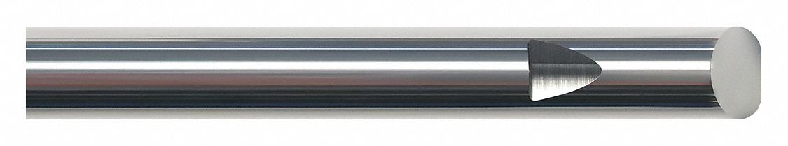 Fractional Inch 4 Overall Length 3//4 Carbide Round Blank