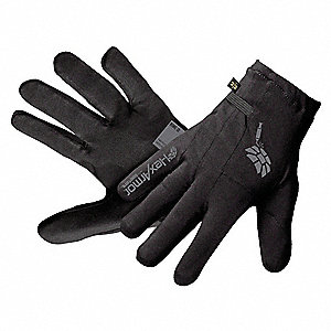 Cut Resistant Gloves, ANSI/ISEA Cut Level 5, SuperFabric® Lining, Black, M, PR 1