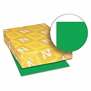 "8-1/2"" x 11"" Multipurpose Paper with Matte Finish, Gamma Green&#x3b; PK500"