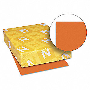 Multi Paper,8-1/2 x 11 In,Orange,PK500