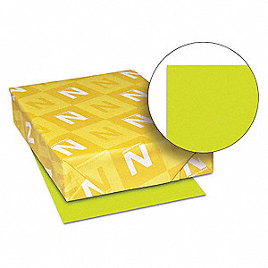 "8-1/2"" x 11"" Multipurpose Paper with Matte Finish, Terra Green; PK500"