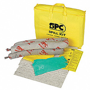Spill Kit/Station, Bag, Universal, 30 gal.