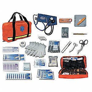 Flat Pac Response Kit,Navy Blue