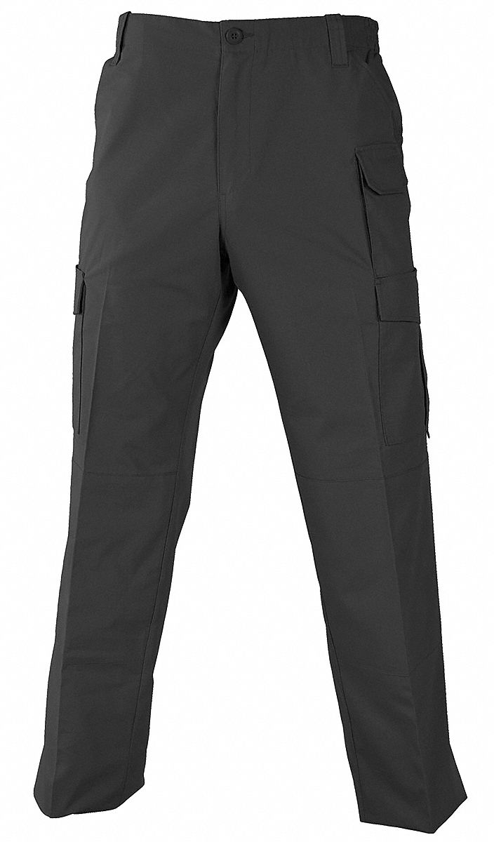Trouser. Size: 38 in x 32 in, Fits Waist Size: 38 in, Inseam: 32 in, Black