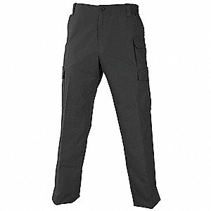 "Trouser. Size: 38"" x 36"", Fits Waist Size: 38"", Inseam: 36"", Black"