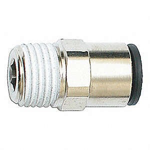 CONNECTOR MALE STRAIGHT M8XR1/8