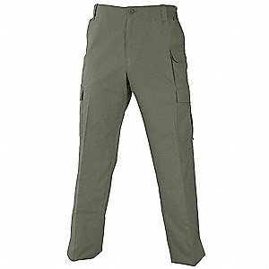 Tactical Trouser,Olive,Size 38X34,PR